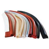 Нашивка силикона, профиль силикона, штранге-прессовани силикона с силиконовой резиной 100%