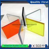 Tamanho e Colour Customized Cast Acrylic Sheet