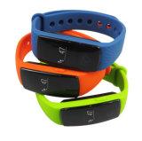 Relógio inteligente esperto do bracelete OLED de Bluetooth do bracelete esperto do relógio de pulso do fabricante