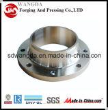 A105 ASME B16.5 Wn HF-Flansch-Kohlenstoffstahl-Flansch
