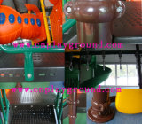 Campo da giuoco dell'interno e strumentazione esterna del campo da giuoco con plastica piena (HA-10401)