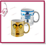 11oz Sublimation Coated Shiny Plating Metallic Mug