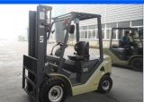 Higher Lifting Mastの1.5t 1500kg国連Diesel Forklift