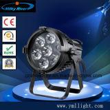 段階の照明のための標準的な防水LEDの同価54*3Wの照明