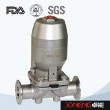 Tipo neumático válvula de diafragma (JN-DV2001) de la abrazadera de la categoría alimenticia del acero inoxidable