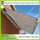 Pabellón retractable de aluminio de los toldos de los patios