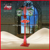 Nouveaux réverbères promotionnels de décoration de Noël du modèle DEL