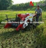 ceifeira do arroz da largura de estaca da potência 1200mm do motor 10kw mini