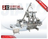 Máquina de enchimento dupla do frasco do pó de Talcum das cabeças (SF5000D)