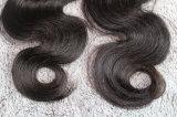 i capelli brasiliani dell'onda del corpo dei capelli umani di 8A Remy tessono