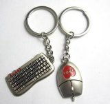 Keychain hueco de encargo, Keychain para el regalo promocional (GZHY-KA-134)