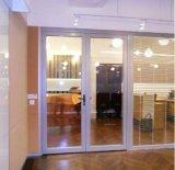 ISO 증명서를 가진 여닫이 창 문을%s Yl 상표 알루미늄 문