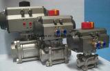 Kugel Valve mit Pneumatic Actuator