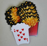 Выдвиженческая изготовленный на заказ скачками форма играя покер