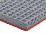 Vulkanisierende OberflächenPrafabricated laufende Gummispur