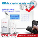 Home Safetyのための無線GSM Home Security Burglar Alarm System