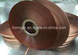 Folha de revestimento laminada Mylar do cobre da fita do poliéster para o cabo de Wire&