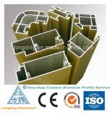 Extrusions en aluminium faites sur commande en métal d'extrusions