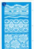 Merletto del ciglio per vestiti/indumento/pattini/sacchetto/caso J020 (larghezza: 4.5cm-23cm)