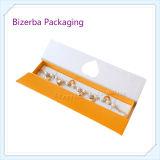 専門の堅いペーパー宝石類のギフトの包装ボックス