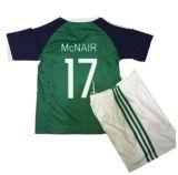 Nouveau maillot de football 2016 d'Irlande du Nord et d'Irlande du Nord 2017