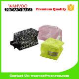 Saco desobstruído da composição do PVC do profissional feito sob encomenda de OEM/ODM com Zipper dos plásticos