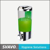 Распределитель мыла уборного ручной с видит до конца бак (V-9121)
