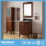 Gabinete de banheiro clássico do estojo compato americano do estilo com duas portas (BV158W)
