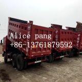 autocarri con cassone ribaltabile utilizzati Sinotruk di 18-25tons HOWO 6*4 per la sabbia e la pietra