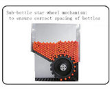 Pequeño rotulador de la etiqueta engomada de la botella del frasco farmacéutico horizontal