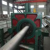 Manguito acanalado del metal flexible que hace el fabricante de la máquina