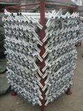 винт Jack 48mm подпирая для гальванизированного Electro лесов рамки