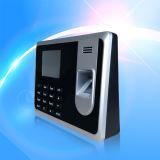 Comparecimento do tempo da impressão digital e terminal do controle de acesso com o leitor de cartão da identificação (T8-A)