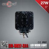 "5 "" 27W 연필 플러드 광속 LED 자동차 운전 작동 빛"