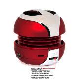 Haut-parleur professionnel sans fil de Bluetooth de couleur rouge mini