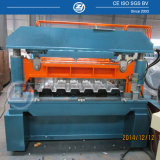 Metal Floor Decking Panel Forming Machine with Pressing Rollers