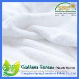 Tissu composé imperméable à l'eau d'essuie-main de tissu de Terry de coton de TPU