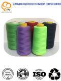 Poly de 100%/poly amorçage de couture tourné par faisceau