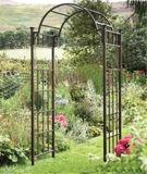 Arco del giardino del ferro saldato di alta qualità per la mobilia del giardino