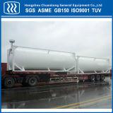 Transporte de líquidos criogénicos Semirremolque Cisterna de almacenamiento