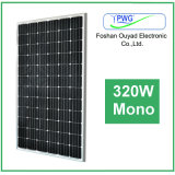 Изготовление панели солнечных батарей 320W ISO TUV Ce Approved Mono