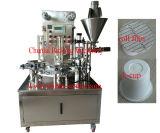 크림 요구르트 컵 충전물 및 밀봉 기계