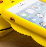 Geval van de Rugdekking van het Silicone Pikachu van het Beeldverhaal van Anime 3D Leuke voor iPhone 7 4s 5 5s Se 6 6s plus voor S4 S5 S6 S7 S7edge Note3/4/5/J5/A7 (xsdw-077)