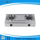 Fornello di gas da tavolo del bruciatore del ghisa di S/S