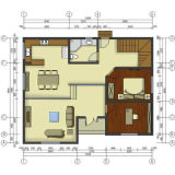 각종 배치 환경 살아있는 홈을%s 친절한 강철 별장 집