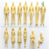 13 x-1:50 Scaled Person Figurines mit Skin Color& White Color