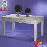 Tableau dinant de piédestal carré en bois solide de Seaters du Chic 4 de ferme