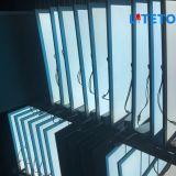 Lámpara del panel interior de la oficina de Dimmable del control del silicio de la luz del panel de la aprobación LED del Ce de la serie de las luces del panel de Liteto LED de la fábrica de Shenzhen, China 600*600m m 36W 100lm/W
