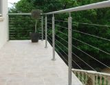 Al aire libre de calidad superior de acero inoxidable 316 Cable Baranda