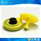 De nieuwste Hete Verkopende UHF Dierlijke Markering van het Oor van het Beheer van de Identificatie van de Koe RFID